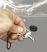Locking pin retaining strap.