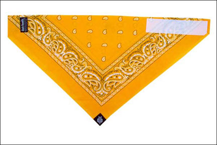 Dust Bandit Paisley Yellow Gold