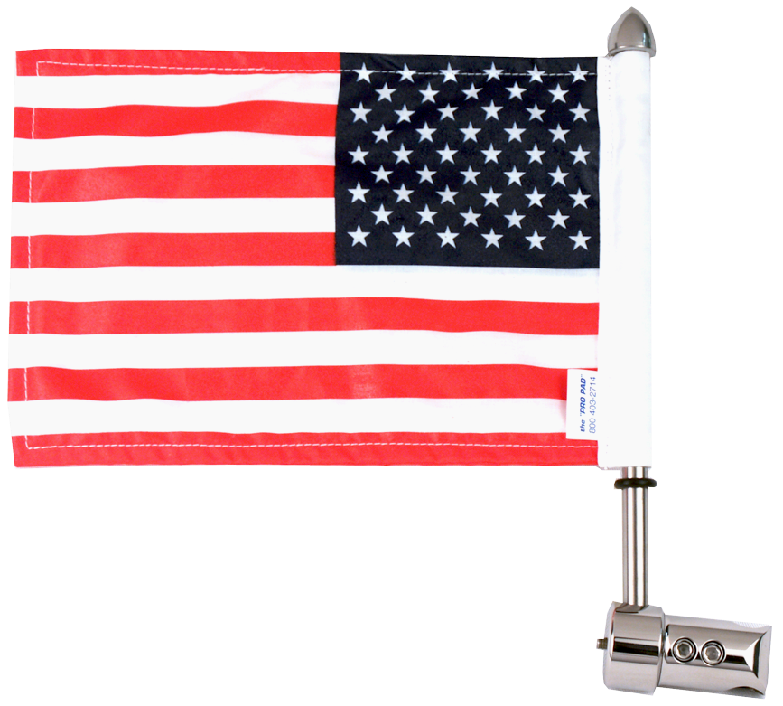 "Round Sissy Bar Flag Mount (9/16"")"