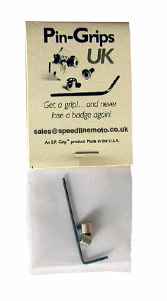 Pin Grips - Packet of 2 (UK)