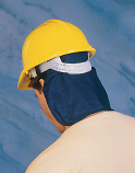 Miracool Deluxe Hard Hat Pads with neck shade
