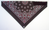 Dust Bandit Black/Red/White Paisley